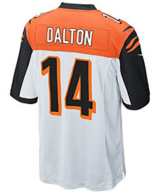 Nike Andy Dalton Cincinnati Bengals Game Jersey, Big Boys (8-20)