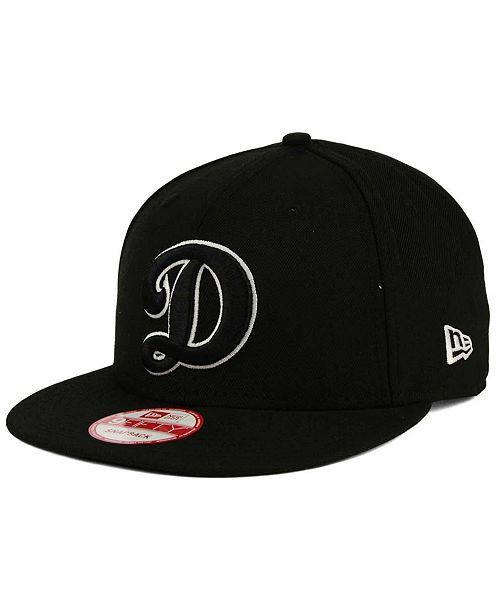 c945582e064 ... New Era Oklahoma City Dodgers Black White 9FIFTY Snapback Cap ...