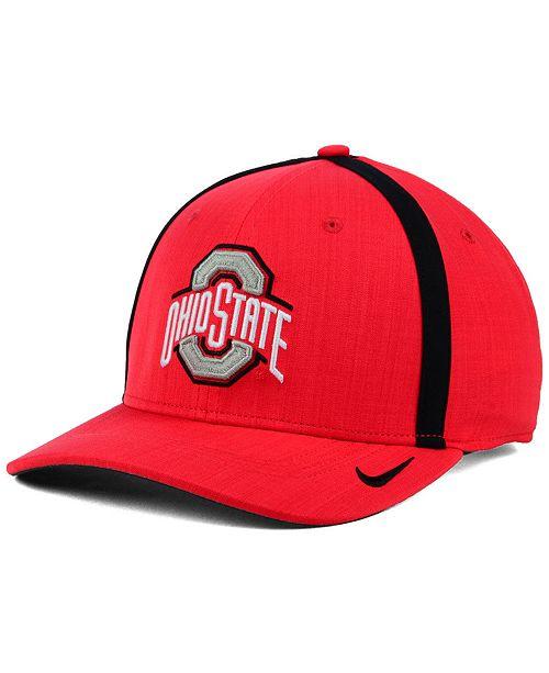 62386cc08b4 Nike Ohio State Buckeyes Aerobill Sideline Coaches Cap   Reviews ...