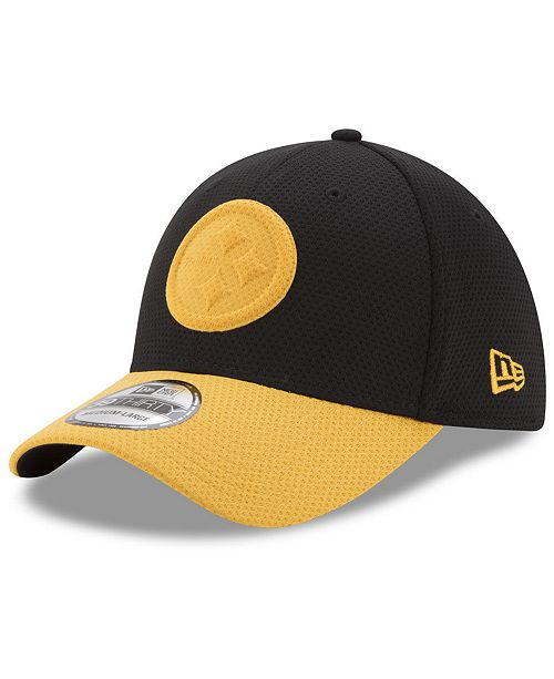 New Era Pittsburgh Steelers Logo Surge 39THIRTY Cap - Sports Fan ... 92410e66d06