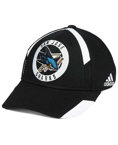 adidas San Jose Sharks Practice Jersey Hook Cap