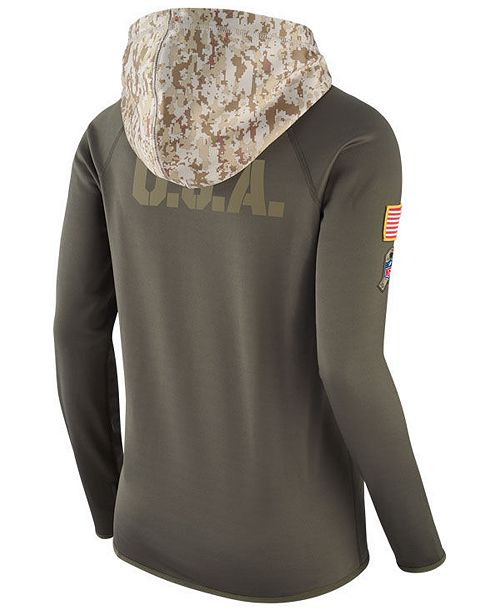 new style df1ce 3f6c0 Nike Women's Minnesota Vikings Salute To Service Hoodie ...