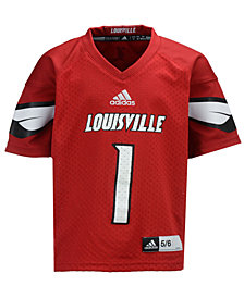 adidas Louisville Cardinals Replica Football Jersey, Toddler Boys