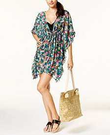 Jessica Simpson Eden Ruffled Cover-Up