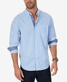 Nautica Men's Stripe Stretch Shirt