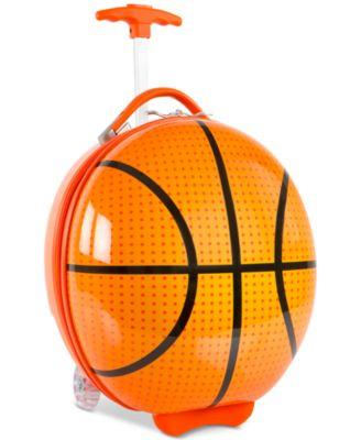 """16"""" Kids Wheeled Basketball Suitcase"""