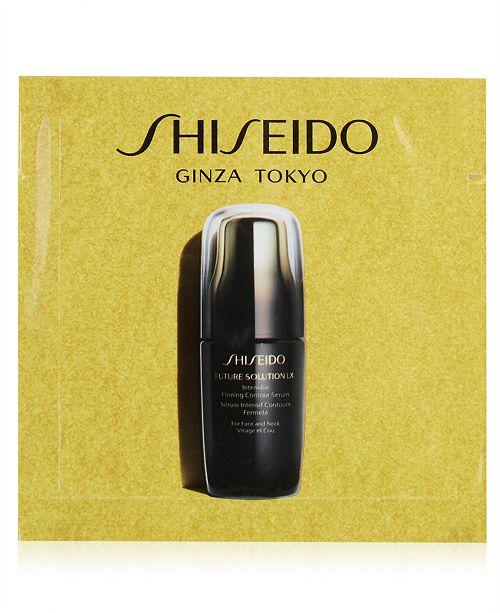 Shiseido Receive a FREE Shiseido Future Solution LX Serum Sample with any skincare purchase