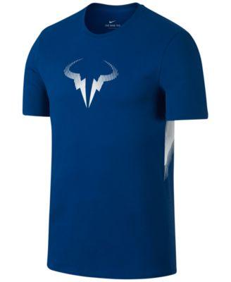 New Nike Rafael Nadal Rafa Bull Logo Icon Tee Shirt 698234-612 Hot ...