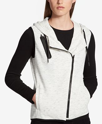 Calvin Klein Performance Hooded French Terry Vest
