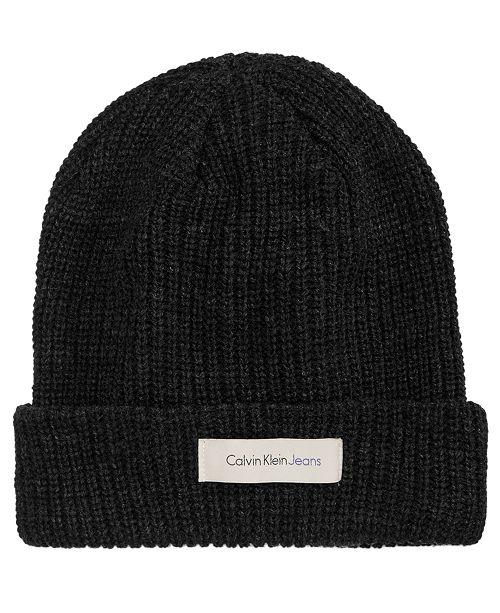 Calvin Klein Jeans Men s Knit Beanie - Hats a7993366acd