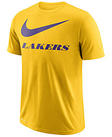 Nike Men's Los Angeles Lakers Swoosh Legend Team T-Shirt
