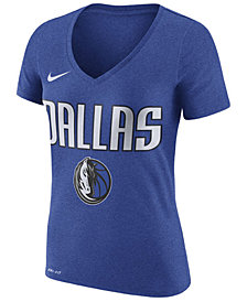 Nike Women's Dallas Mavericks Wordmark T-Shirt
