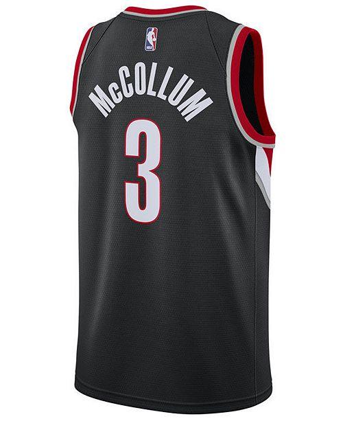 6122ffc35 ... Nike Men s C.J. McCollum Portland Trail Blazers Icon Swingman Jersey ...