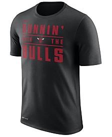 Nike Men's Chicago Bulls Legend Verbiage T-Shirt