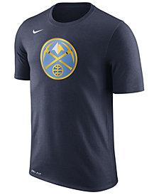 Nike Men's Denver Nuggets Dri-FIT Cotton Logo T-Shirt