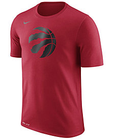 Nike Men's Toronto Raptors Dri-FIT Cotton Logo T-Shirt