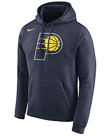 Nike Men's Indiana Pacers Logo Club Hoodie