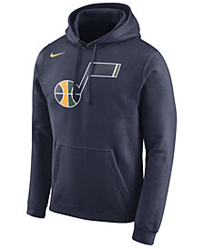 Nike Men's Utah Jazz Logo Club Hoodie