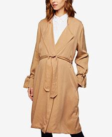 Splendid Maternity Belted Trench Coat