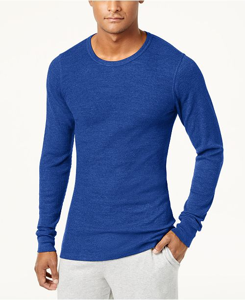 78a3d458cf91 Alfani Men's Thermal Shirt, Created for Macy's & Reviews - Underwear ...