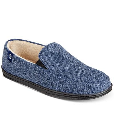 Isotoner Men\'s Moccasin Slippers - All Men\'s Shoes - Men - Macy\'s