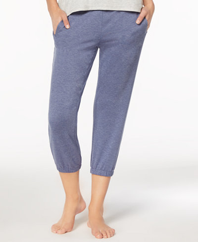 Alfani Elastic-Cuff Jogger Pajama Pants, Created for Macy's
