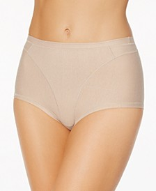 Women's  Light Control High-Waist Panty in Cotton 01214A