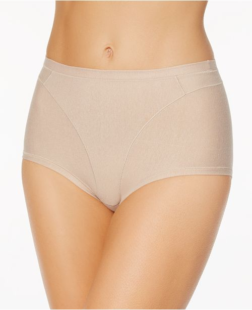 aa45f7e7d7 Leonisa Women s Light Control High-Waist Panty in Cotton 01214A ...