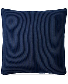 "Flora Blue 18"" x 18"" Decorative Pillow"