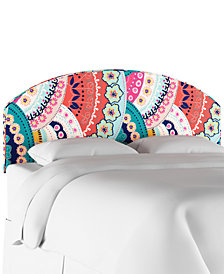 Jasmin Queen Curved Headboard, Quick Ship