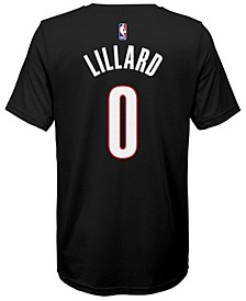 Damian Lillard Portland Trail Blazers Icon Name & Number T-Shirt, Big Boys (8-20)