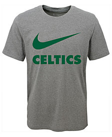 Nike Boston Celtics Swoosh Team T-Shirt, Big Boys (8-20)