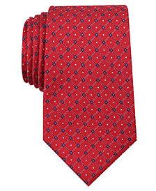 Nautica Men's Mellen Grid Silk Tie
