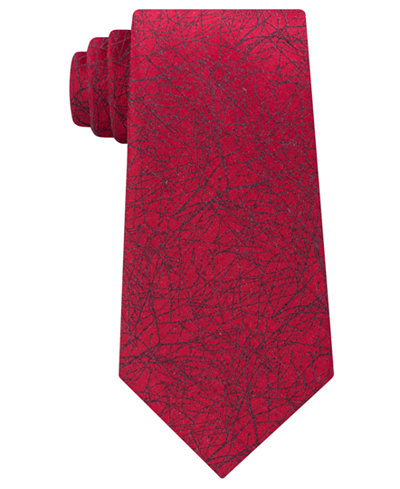Calvin Klein Men's Abstract Vine Tie
