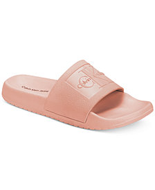 Calvin Klein Women's Christie Pool Slides, Created For Macy's