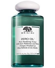 Zero Oil Pore Purifying Toner with Saw Palmetto & Mint, 5 fl. oz