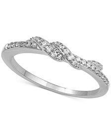 Diamond Twist Ring (1/7 ct. t.w.)