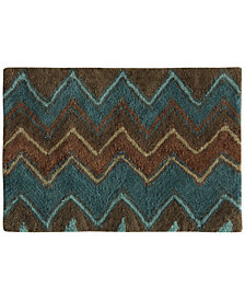 "Bacova Sierra Cotton 20"" x 30"" Zig-Zag Bath Rug"