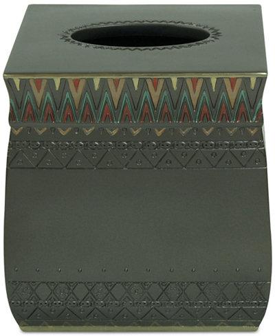 Bacova Sierra Zig-Zag Tissue Cover