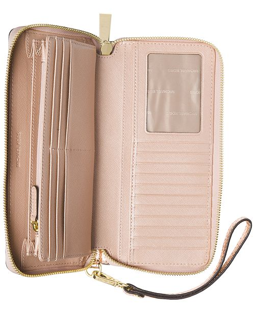b6fb03a3e617 Michael Kors Jet Set Travel Continental Wallet & Reviews - Handbags ...