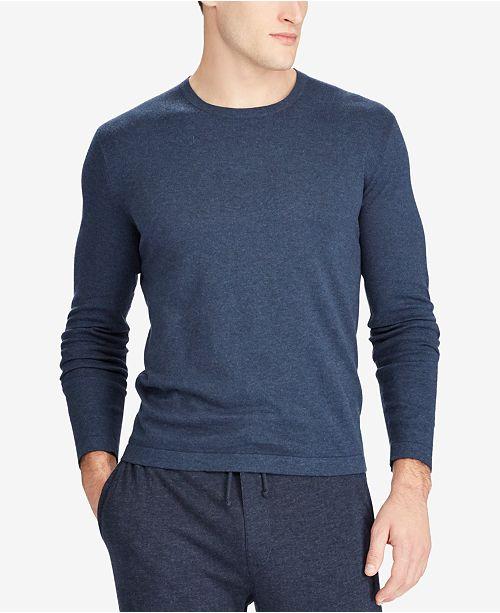 acbc66cda Polo Ralph Lauren Men's Crew Neck T-Shirt Sweater & Reviews ...