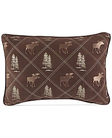"Croscill Kent 18"" x 12"" Boudoir Pillow"