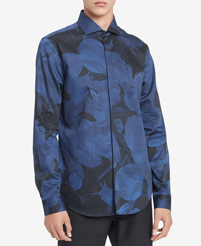 Calvin Klein Men's Printed Shirt