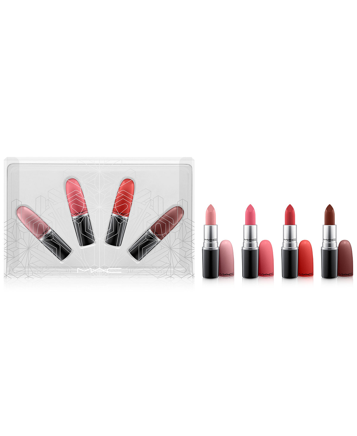 MAC Snow Ball Holiday Kit / Snow Ball Full-Size Warm Lipstick Set (A $70 Value!), Created for Macy's