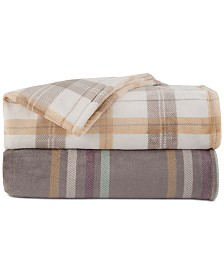Vellux Allen & Emmit Printed Plush Blankets
