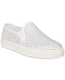 Material Girl Eidyth Slip-On Embellished Sneakers, Created for Macy's