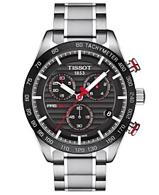 Men's Swiss Chronograph T-Sport PRS 516 Stainless Steel Bracelet Watch 42mm