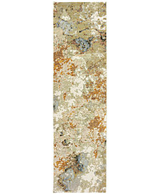 "Oriental Weavers Evolution Alloy 2'3"" x 8' Runner Area Rug"