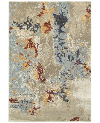 "Evolution Temp 5'3"" x 7'3"" Area Rug"