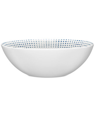 Blue Hammock Cereal Bowl, Created For Macy's by Noritake